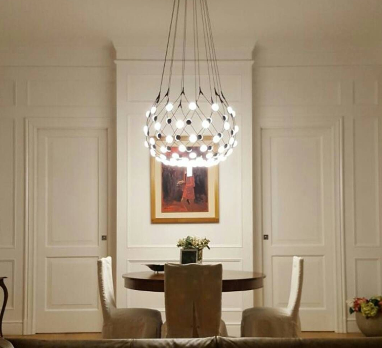 Mesh d86npi francisco gomez paz suspension pendant light  luceplan 1d860n800001 1d860 t58001  design signed 55712 product