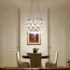 Mesh d86npi francisco gomez paz suspension pendant light  luceplan 1d860n800001 1d860 t58001  design signed 55712 thumb