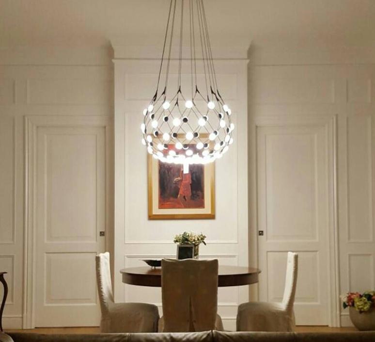 Mesh d86npi francisco gomez paz suspension pendant light  luceplan 1d860n800001 1d860 w50001 1d860 100000  design signed 55702 product
