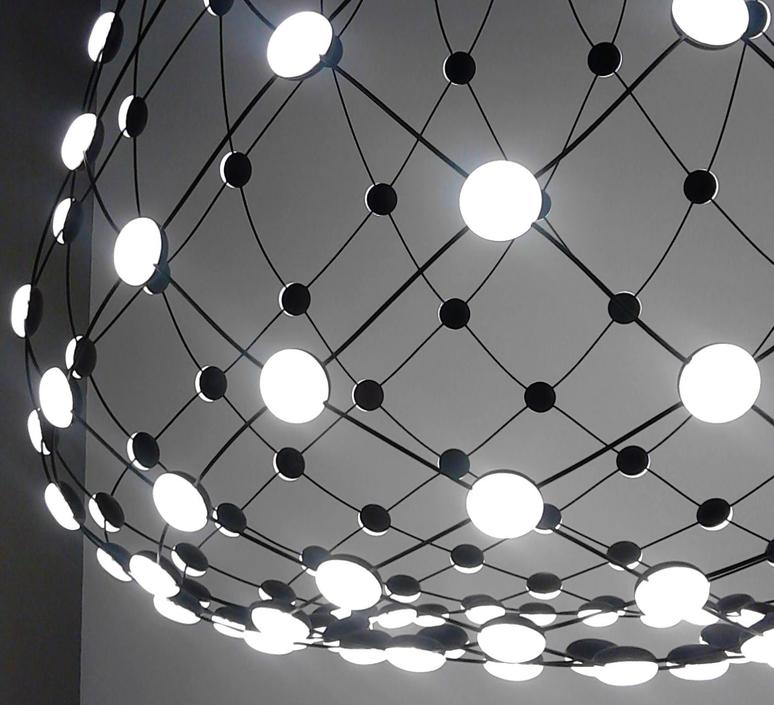 Mesh d86npi francisco gomez paz suspension pendant light  luceplan 1d860n800001 1d860 w50001 1d860 100000  design signed 55703 product