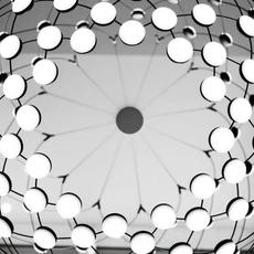 Mesh d86pl francisco gomez paz suspension pendant light  luceplan 1d860pl00001  design signed 54799 thumb