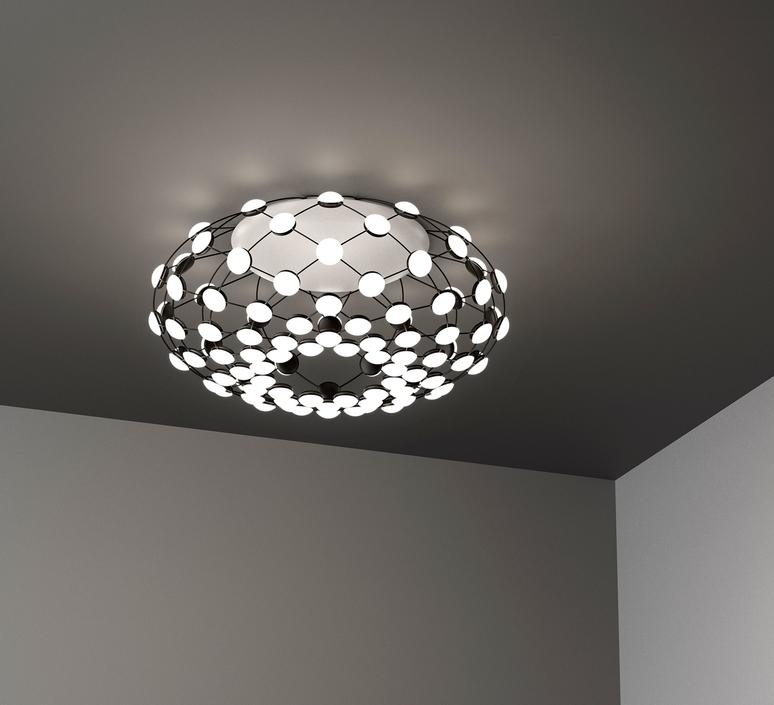 Mesh d86pl francisco gomez paz suspension pendant light  luceplan 1d860pl00001  design signed 54803 product