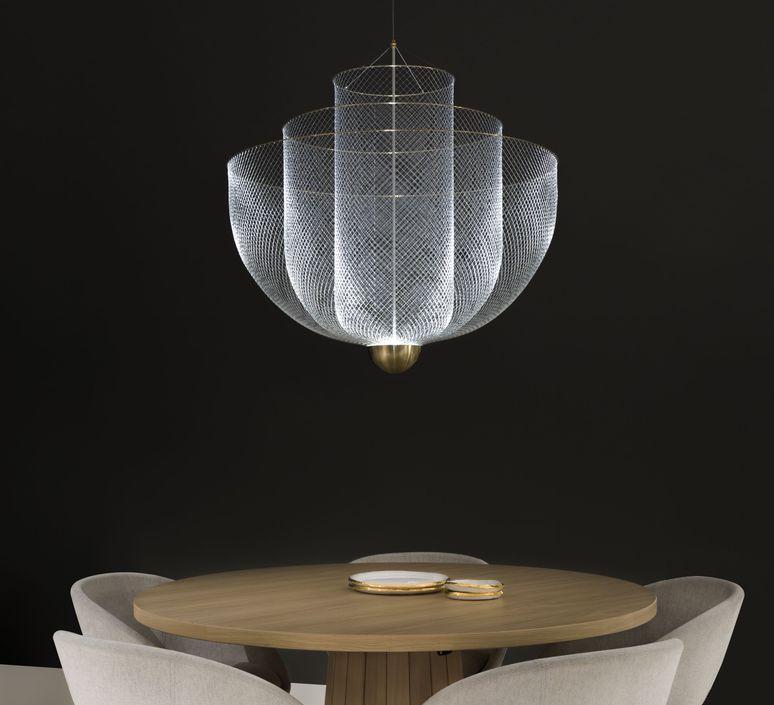 Meshmatics rick tegelaar suspension pendant light  moooi molmesh   design signed 57069 product