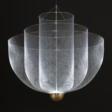 Meshmatics rick tegelaar suspension pendant light  moooi molmesh   design signed 57070 thumb