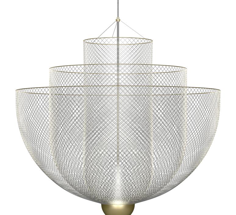 Meshmatics rick tegelaar suspension pendant light  moooi molmesh   design signed 57071 product
