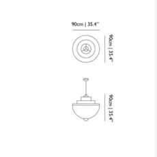 Meshmatics rick tegelaar suspension pendant light  moooi molmesh   design signed 57072 thumb