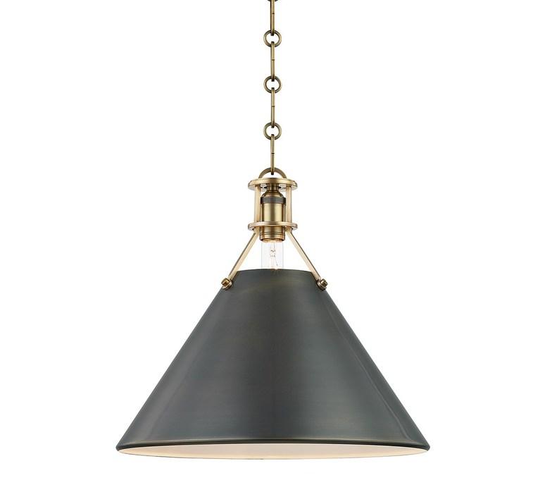 Metal n 2  mark d sikes suspension pendant light  hudson valley lighting group mds952 adb ce  design signed nedgis 78329 product