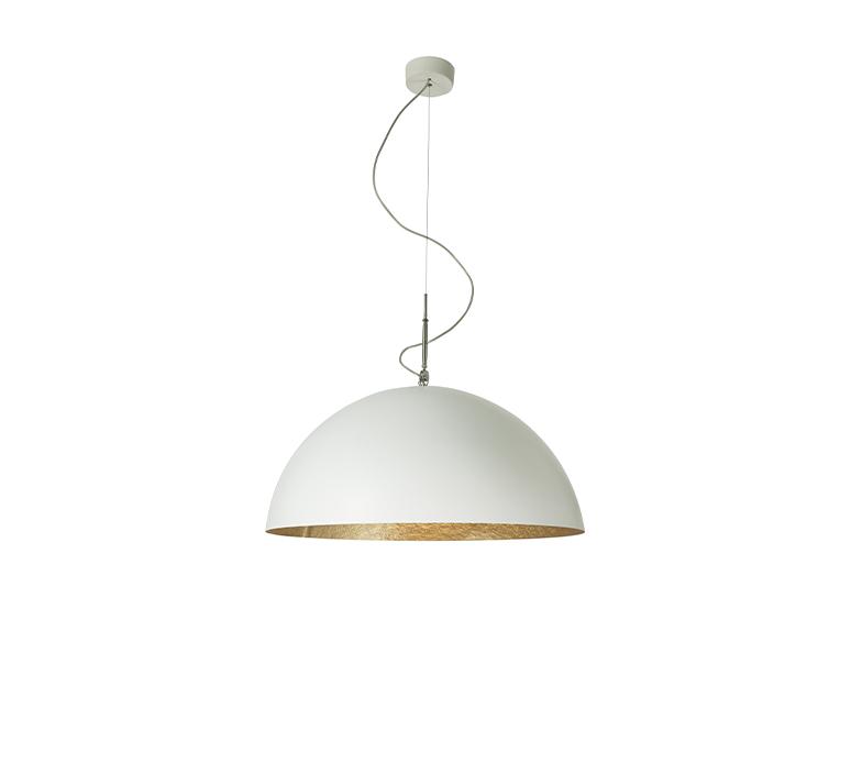 Mezza luna 1 ociluman suspension pendant light  in es artdesign in es0501bl o  design signed nedgis 116970 product