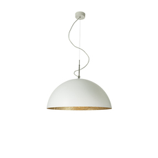 Mezza luna 1 ociluman suspension pendant light  in es artdesign in es0501bl o  design signed nedgis 116970 thumb