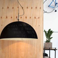 Mezza luna 1 lavagna  suspension pendant light  in es artdesign in es05010l b  design signed 38671 thumb