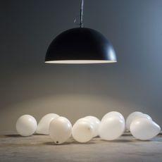 Mezza luna 1 lavagna  suspension pendant light  in es artdesign in es05010l b  design signed 38672 thumb
