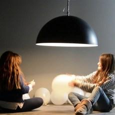 Mezza luna 1 lavagna  suspension pendant light  in es artdesign in es05010l b  design signed 38676 thumb