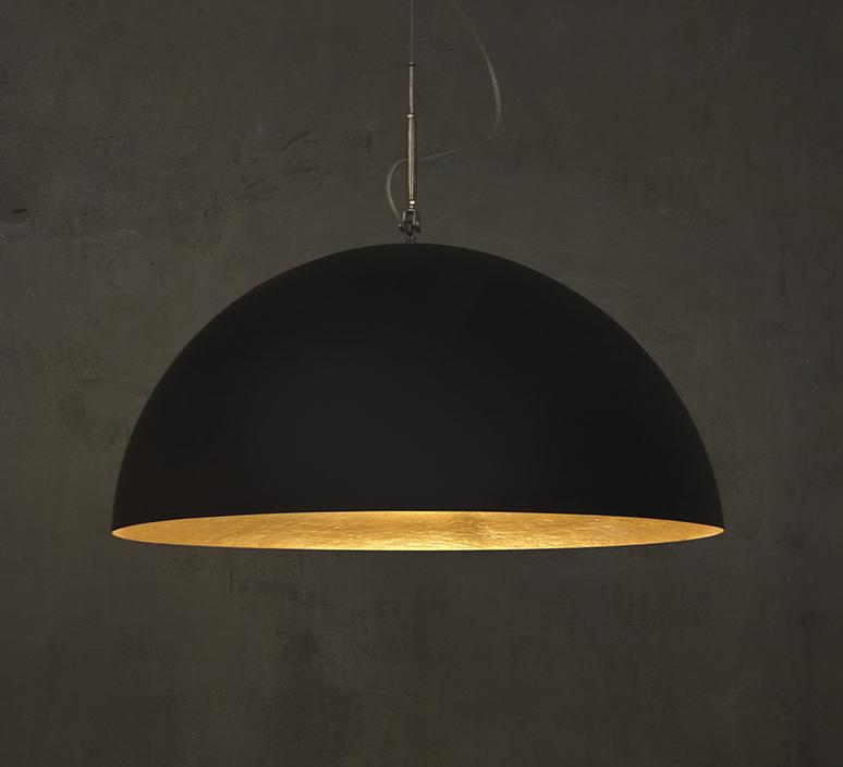 Mezza luna 1 ociluman suspension pendant light  in es artdesign in es0501n o  design signed nedgis 115813 product
