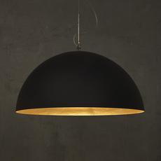 Mezza luna 1 ociluman suspension pendant light  in es artdesign in es0501n o  design signed nedgis 115813 thumb