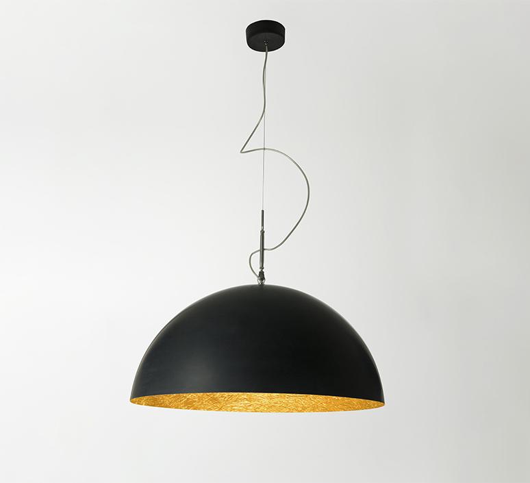 Mezza luna 1 ociluman suspension pendant light  in es artdesign in es0501n o  design signed nedgis 115814 product