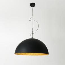Mezza luna 1 ociluman suspension pendant light  in es artdesign in es0501n o  design signed nedgis 115814 thumb