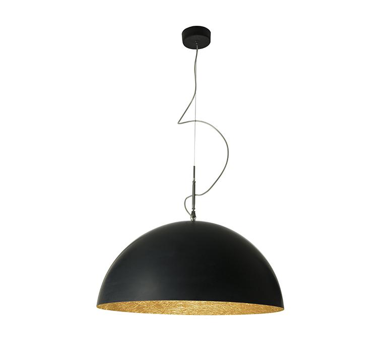 Mezza luna 1 ociluman suspension pendant light  in es artdesign in es0501n o  design signed nedgis 115815 product