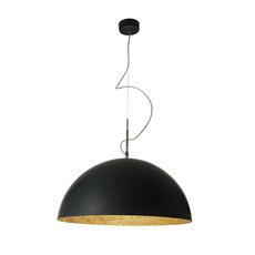 Mezza luna 1 ociluman suspension pendant light  in es artdesign in es0501n o  design signed nedgis 115815 thumb