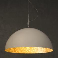 Mezza luna 2 ociluman suspension pendant light  in es artdesign in es0502bl o  design signed nedgis 116972 thumb