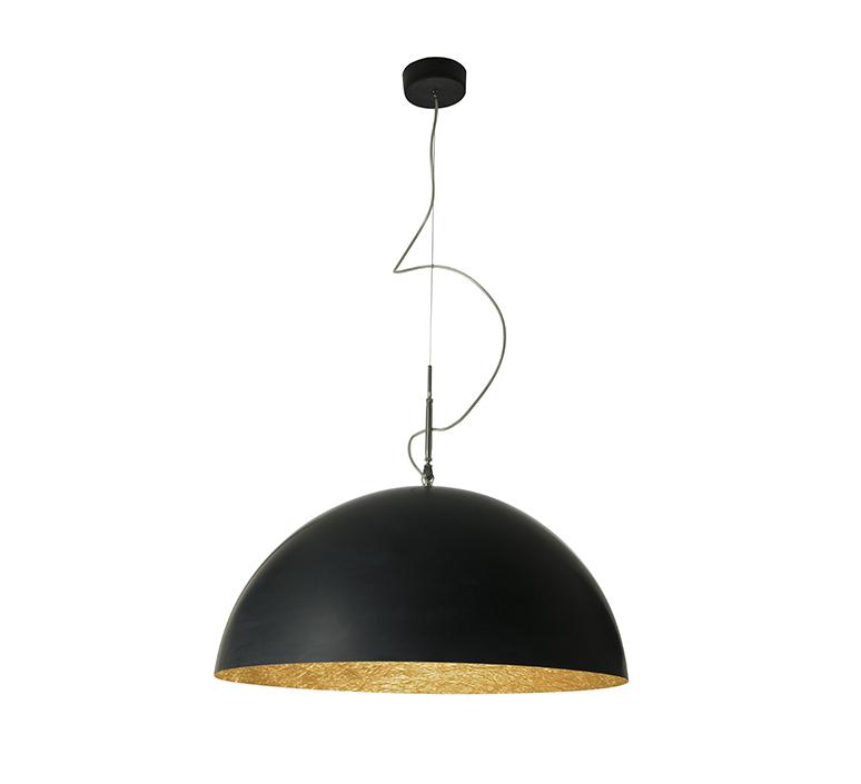 Mezza luna 2 ociluman suspension pendant light  in es artdesign in es0502n o  design signed nedgis 115818 product