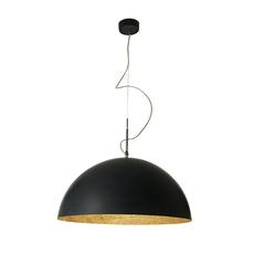 Mezza luna 2 ociluman suspension pendant light  in es artdesign in es0502n o  design signed nedgis 115818 thumb