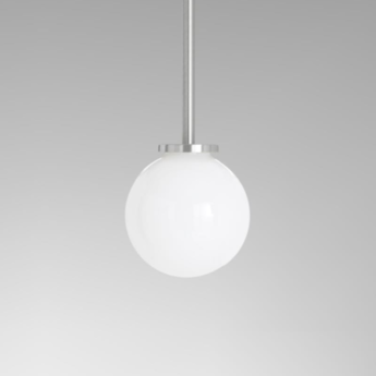 Suspension mezzo argent o12cm h15cm cto lighting normal