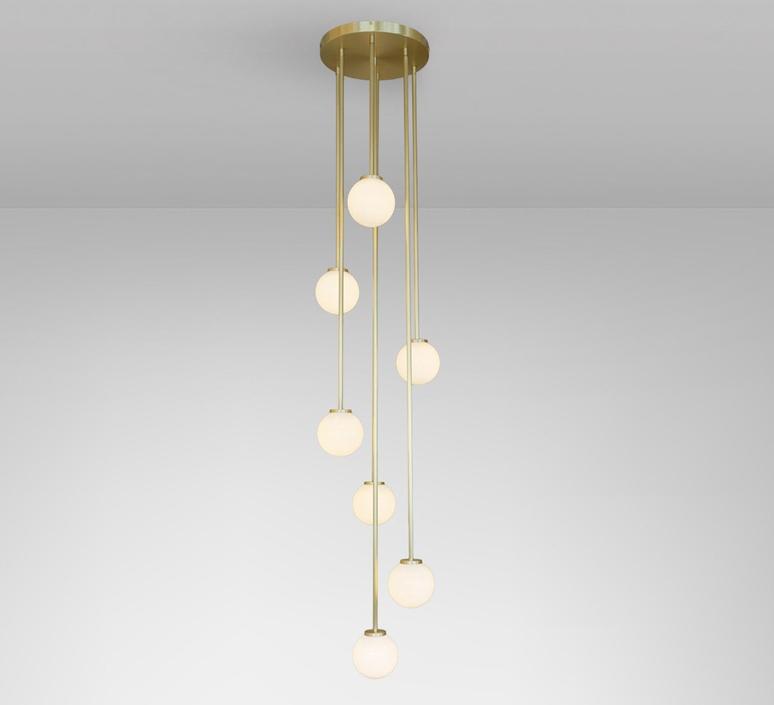 Mezzo cluster 5 chris et clare turner suspension pendant light  cto lighting cto 01 210 0501   design signed nedgis 115886 product