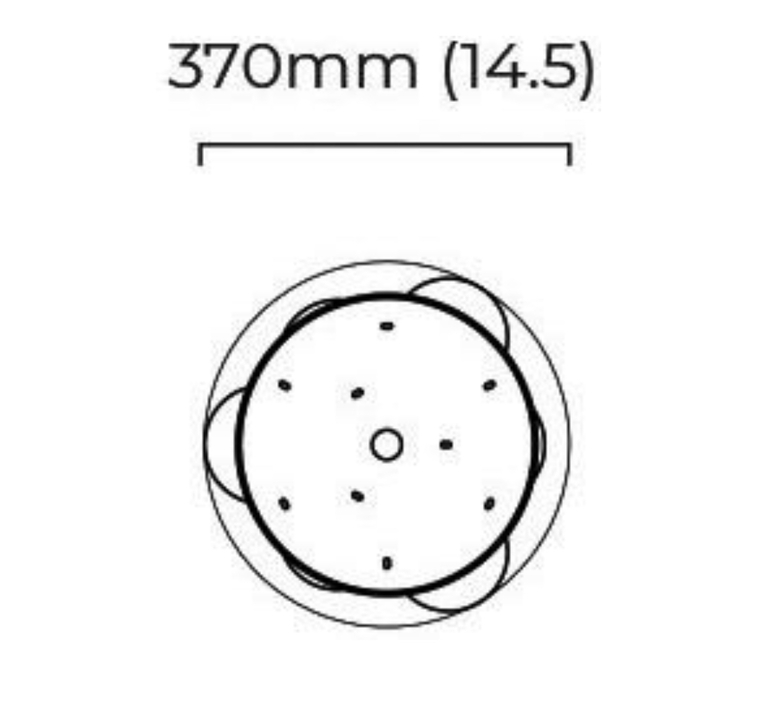 Mezzo cluster 5 chris et clare turner suspension pendant light  cto lighting cto 01 210 0501   design signed nedgis 115889 product