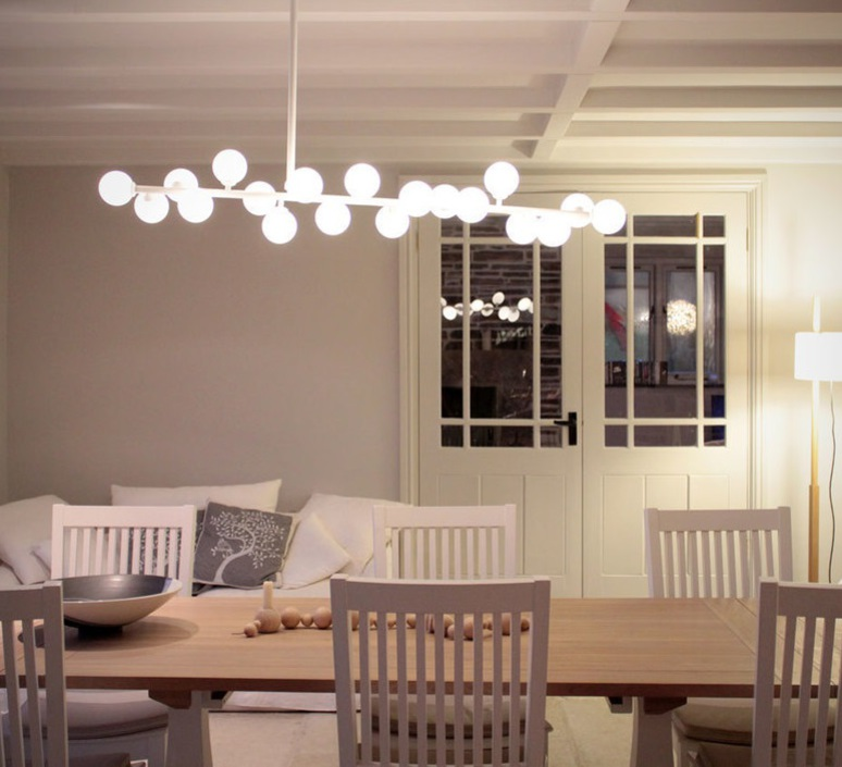 Mimosa gwendolyn et guillane kerschbaumer suspension pendant light  atelier areti mimosa ceiling white  design signed 44069 product