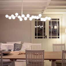 Mimosa gwendolyn et guillane kerschbaumer suspension pendant light  atelier areti mimosa ceiling white  design signed 44069 thumb