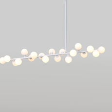 Mimosa gwendolyn et guillane kerschbaumer suspension pendant light  atelier areti mimosa ceiling white  design signed 44070 thumb