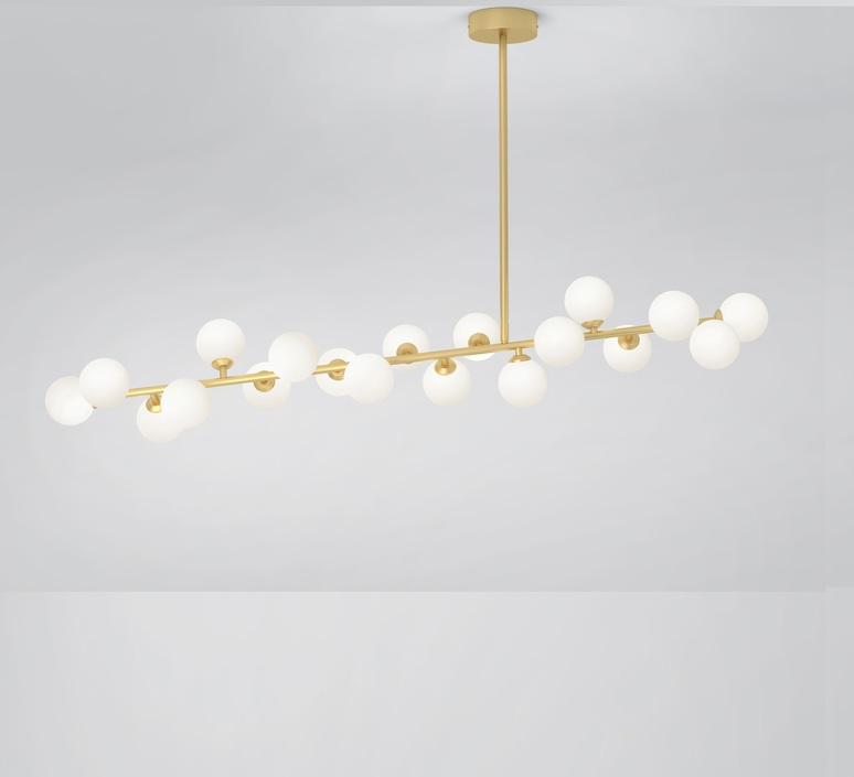 Mimosa gwendolyn et guillane kerschbaumer  atelier areti mimosa ceiling  luminaire lighting design signed 82010 product