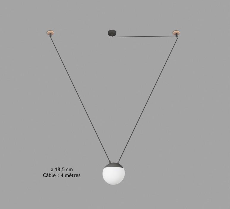 Mine space 1l  suspension pendant light  faro 28376 1l  design signed 38148 product