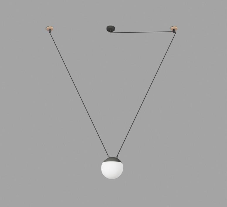 Mine space 1l  suspension pendant light  faro 28376 1l  design signed 38149 product