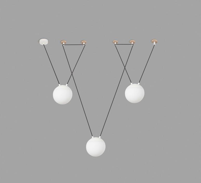 Mine space 3l  suspension pendant light  faro 28375 3l  design signed 38140 product