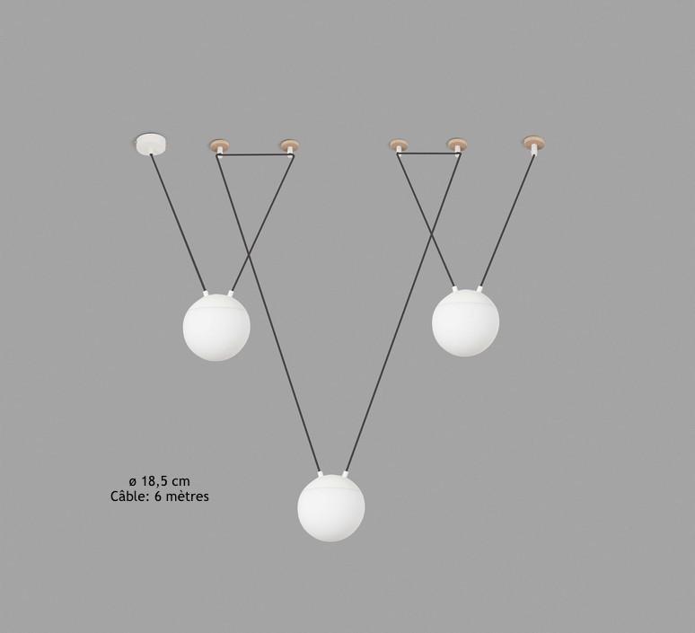 Mine space 3l  suspension pendant light  faro 28375 3l  design signed 38161 product