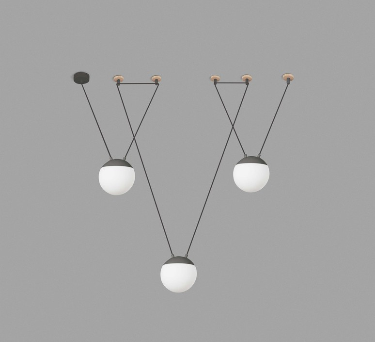 Mine space 3l  suspension pendant light  faro 28376 3l  design signed 38155 product