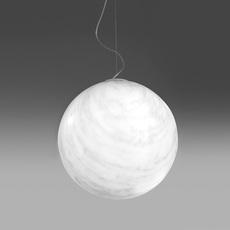 Suspension, Mineral, blanc, gris, Ø40cm Slide Luminaires