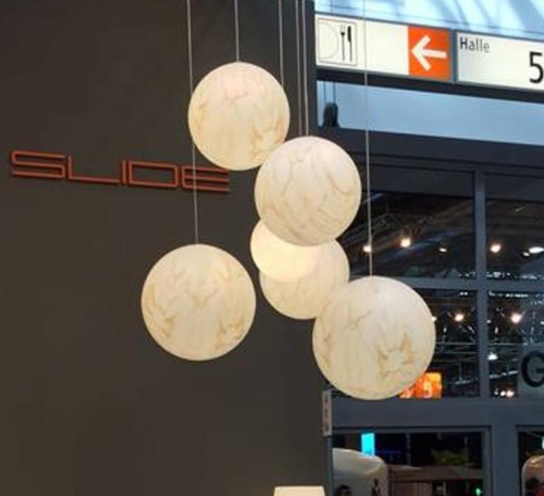 Mineral  suspension pendant light  slide lpsfm040 r  design signed 33172 product