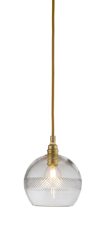 Suspension mini check stripe crystal rowan 15 5 transparent or o15cm h15cm ebb and flow normal
