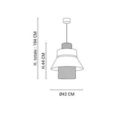 Mini singapour gm studio market set suspension pendant light  market set 653655  design signed nedgis 85899 thumb