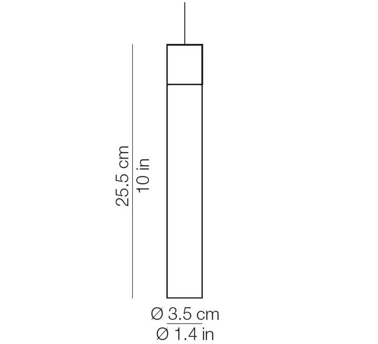 Minimal david pompa suspension pendant light  kundalini 380315r  design signed 42477 product