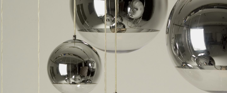 Suspension mirror ball chrome o25cm h25cm tom dixon normal