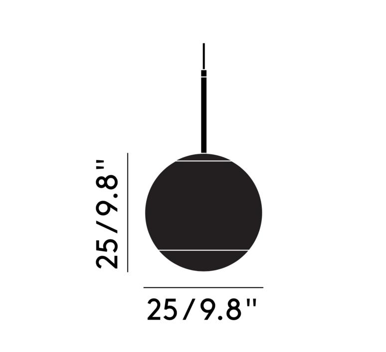 Mirror ball tom dixon suspension pendant light  tom dixon mbb25aeu   design signed 36840 product