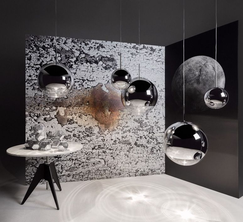 Mirror ball tom dixon suspension pendant light  tom dixon mbb25aeu   design signed 48599 product