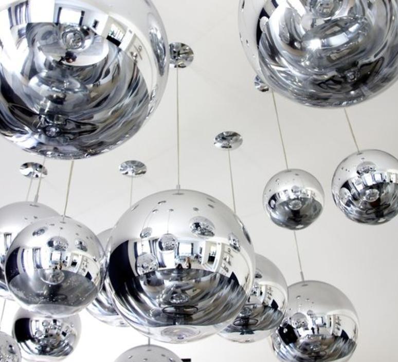 Mirror ball tom dixon suspension pendant light  tom dixon mbb50aeu   design signed 36860 product