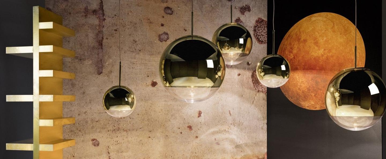 Suspension mirror ball or o25cm h24cm tom dixon normal