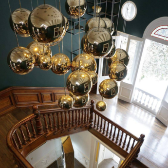Suspension mirror ball or o25cm h25cm tom dixon normal