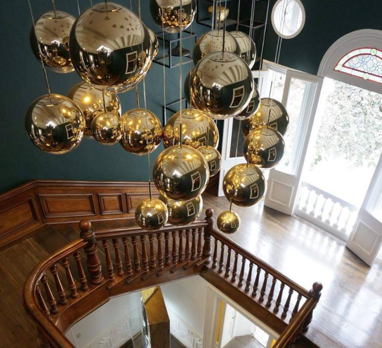 Mirror ball tom dixon suspension pendant light  tom dixon mbb40geu  design signed 48575 product