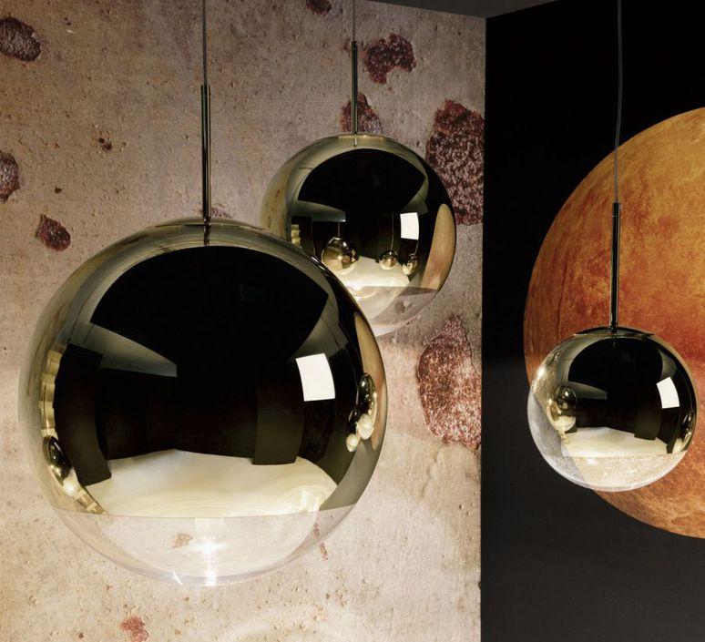 Mirror ball tom dixon suspension pendant light  tom dixon mbb40geu  design signed 48577 product
